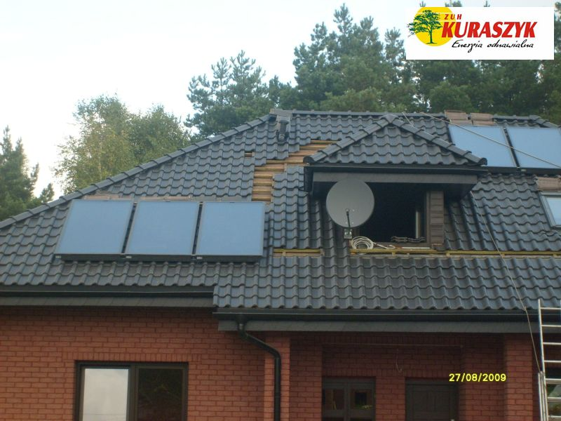 Pc 7 kW + Solary 5 szt.