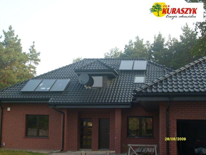 Pc 7 kW + Solary 5szt.
