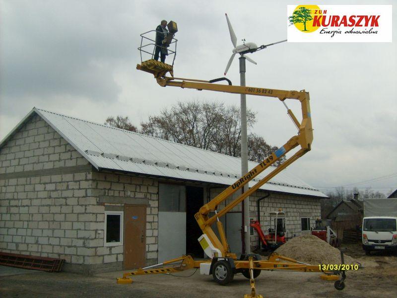Międzyrzec Podlaski Wiatrak 3,2 kW
